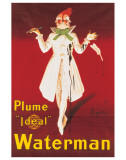 Waterman Premium Giclee Print by Leonetto Cappiello