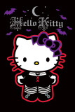 Hello Kitty Goth Lámina
