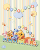 Disney Baby Pooh Train Prints
