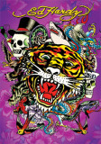 Ed Hardy - Tiger - Poster
