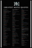101 Greatest Movie Quotes Prints