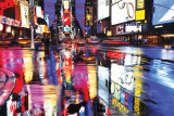 Times Square Colours Kunstdrucke
