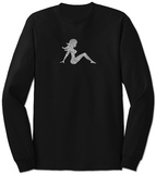Long Sleeve: Mudflap Girl T-shirts