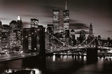 Brooklyn Bridge - B&W Plakat