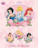 Disney Princess I Believe Prints