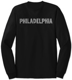 Long Sleeve: Philadelphia Neighborhoods T-shirts