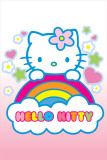 Hello Kitty Rainbow Print