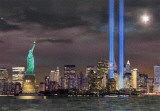 911 Tower of Lights Prints