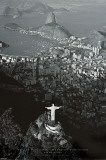 Rio de Janeiro - by Marilyn Bridges Print