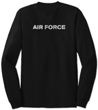 Long Sleeve: Lyrics To The Air Force Song T-skjorte