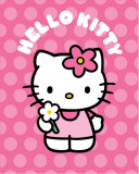 Hello Kitty Polka Dot Flower Láminas