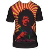 Jimi Hendrix - Swirl Poster T-shirts