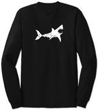 Long Sleeve: Shark 'Bite Me' Langärmelig