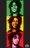 Bob Marley - 3 Pics Prints