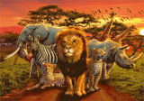 African Kingdom Affiches