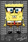Spongebob (I Love Nerds) Posters