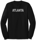 Long Sleeve: Atlanta Neighborhoods Vêtements