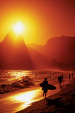 Ipanema Beach - Rio de Janeiro Affiche