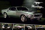 Ford Mustang CobraJet 428 Poster