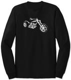 Long Sleeve: Motorcycle - Tişört
