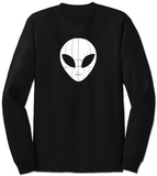 Long Sleeve: I Come in Peace Alien T-Shirt