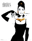 Breakfast At Tiffanys - Gold Masterprint