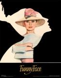 Audrey Hepburn - Silhouette Masterprint