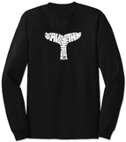 Long Sleeve: Save The Whales T-shirt