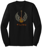 Long Sleeve: Freebird Lyrics T-paidat