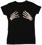 Juniors: Misfits - Skeleton Hands T-shirts