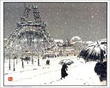 Henri Riviere - Eiffel Tower Poster