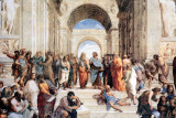 Raphael - School Of Athens Poster