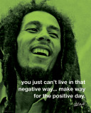 Bob Marley - Positive Print