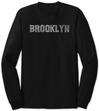 Long Sleeve: Brooklyn Neighborhoods Vêtements