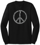 Long Sleeve: Broken Peace T-shirts