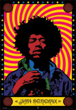 Jimi Hendrix - Psychedelic Psters