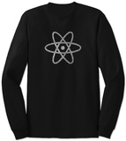 Long Sleeve: Atom out of the Periodic Table T-Shirt