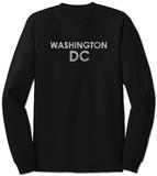 Long Sleeve: Washington DC Neighborhoods T-skjorte