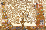 Gustav Klimt - El árbol de la vida Pósters