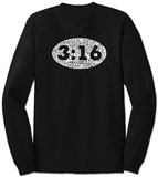 Long Sleeve: John 3:16 Tshirt