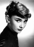 Audrey Hepburn - Close Up Photo