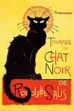 Steinlen - Chat Noir Poster by Theophile Alexandre Steinlen