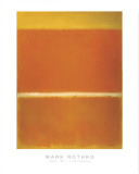Rothko - Saffron 1957 Posters by Mark Rothko