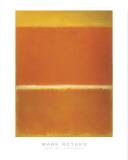 Rothko - Saffron 1957 Posters by Mark Rothko