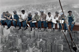 Lunch on a Skyscraper - Colour Posters by Charles C. Ebbets
