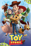 Disney Toy Story Characters Print