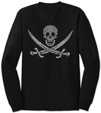 Long Sleeve: Pirate Flag T-Shirt