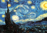 Van Gogh - Starry Night Posters by Vincent van Gogh