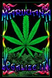 Marijuana Leaf Posters