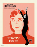 Audrey Hepburn - Funny Face Masterprint